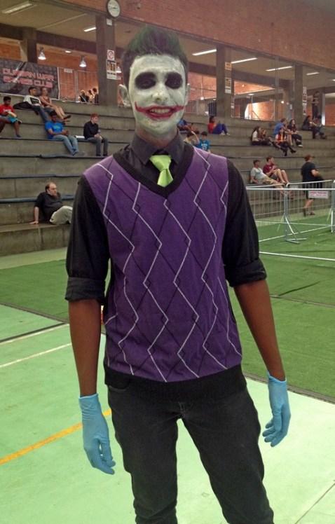 Jason Naidoo as the Joker.