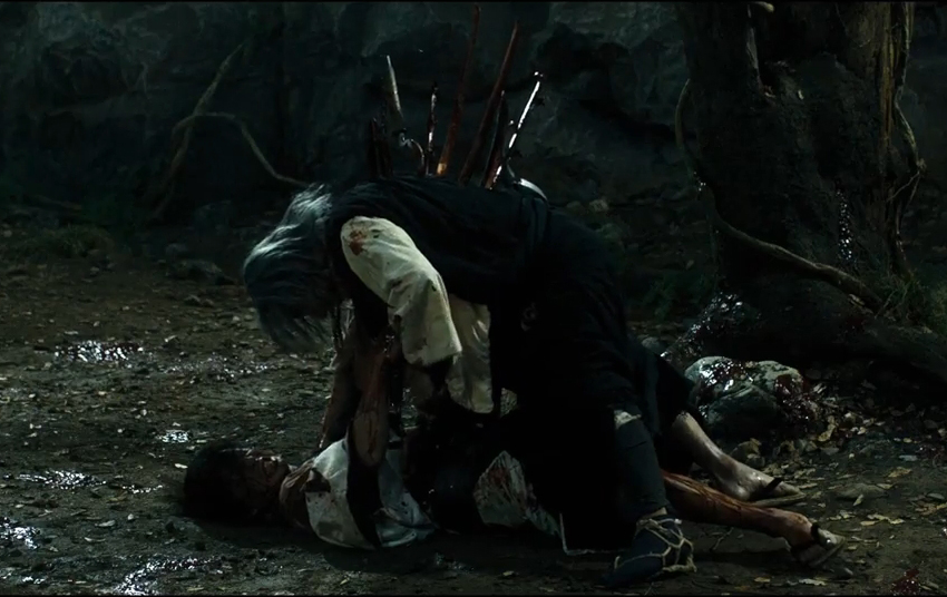 A bloody new Red-Band trailer for Takashi Miike's Blade of the Immortal slices its way online! 2