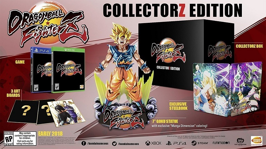 Dragon Ball FighterZ new gameplay and collector's edition revealed 2