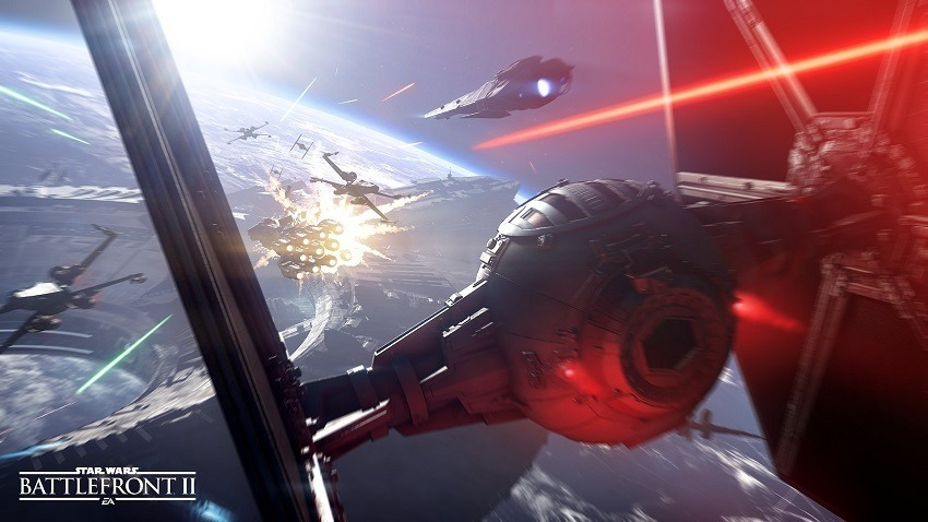 Star Wars Battlefront II Starfighter Assualt looks incredible