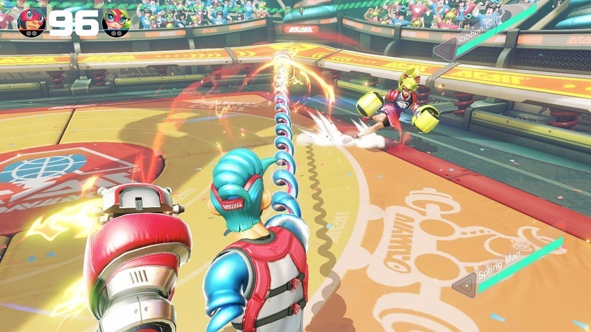 ARMS is finally getting customisable controls