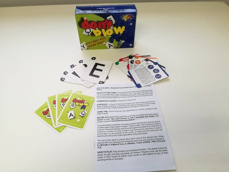 Don't Blow It Review - A local card-based word game that is easy to get into and appeals to the whole family 5