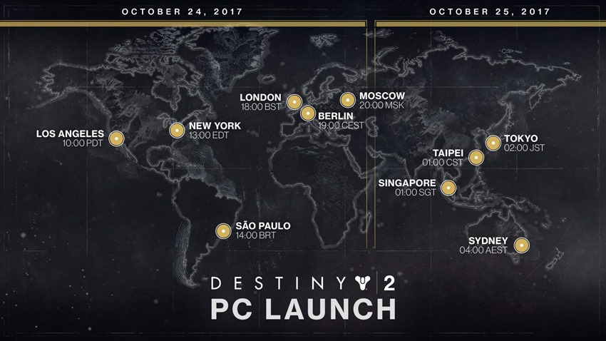 Destiny-2-PC-launch-time