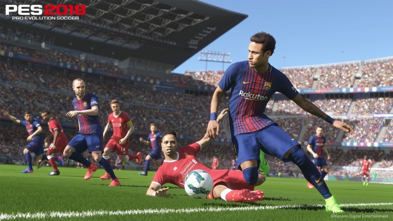 Pro Evolution Soccer 2018 Review - A fine attempt at the crown 5