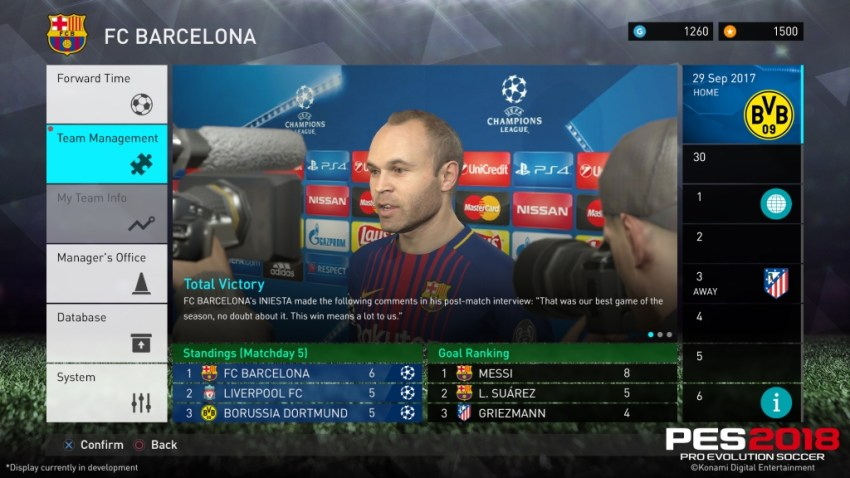 Pro Evolution Soccer 2018 Review - A fine attempt at the crown 8