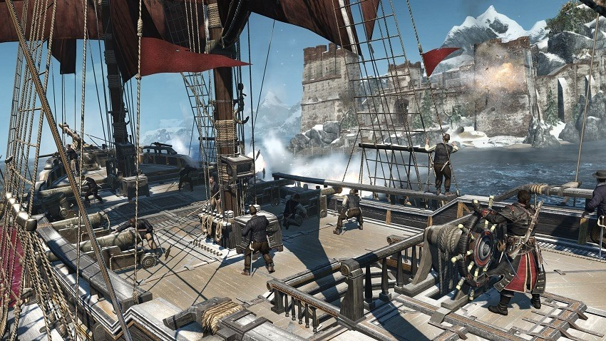 Assassin's Creed Rogue is getting a remaster