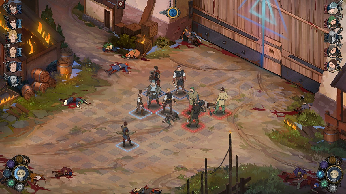 Ash of Gods combines roguelike card-battling with Banner Saga visuals 2