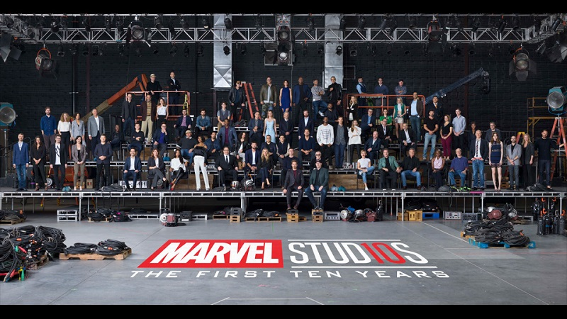 Marvel is celebrating their 10-year anniversary in this new clip 4