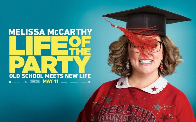 Melissa McCarthy is going back to college in this trailer for Life of the Party 2