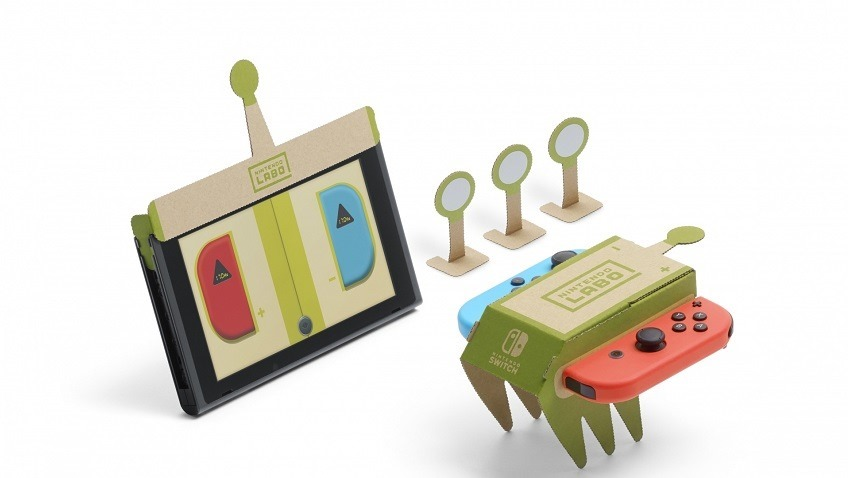Nintendo Labo is letting you make custom robots