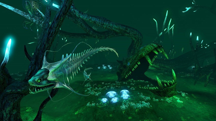 Subnautica player accidentally eats anothers pet 2
