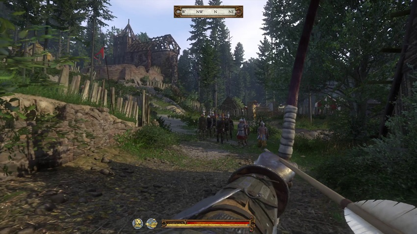 Kingdom Come: Deliverance review in progress part 2 - Czeching in 8