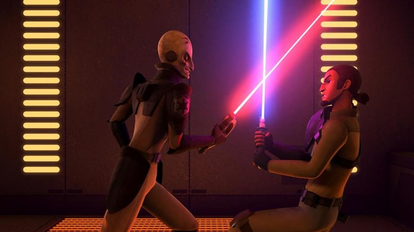 Star Wars Rebels Rise of the old masters