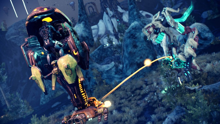 Warframe's huge Shrine of the Eidolon update hitting PS4 and XB1 tomorrow 6