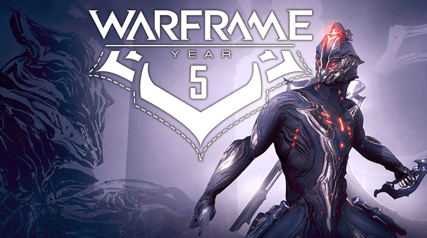 Celebrate Warframe's 5th anniversary with Excalibur Dex and more for free 2