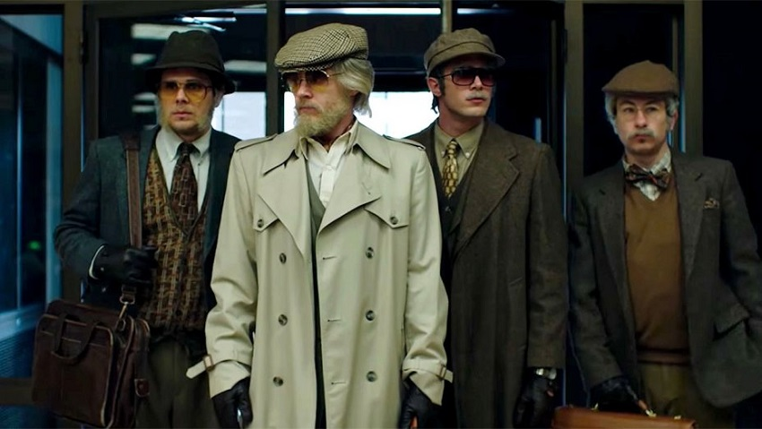 Four students attempt a brazen heist in the true story crime drama American Animals 3