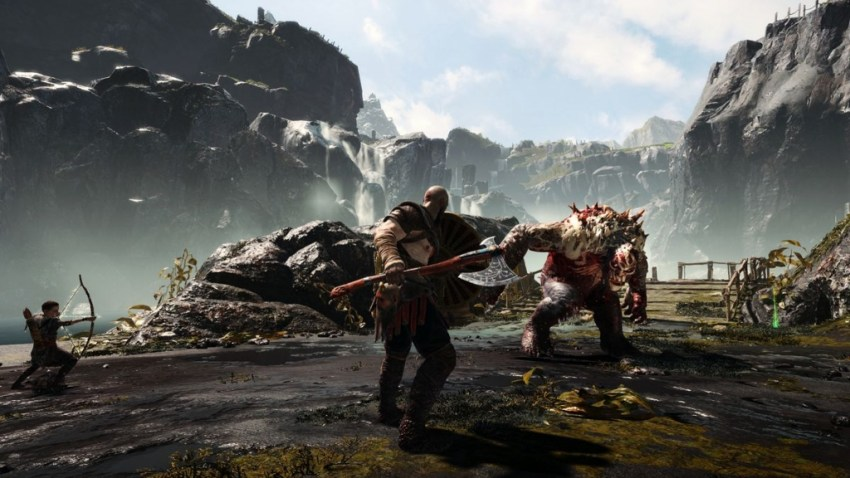 God of War review-in-progress - A strong start laden with compassion and combat 11