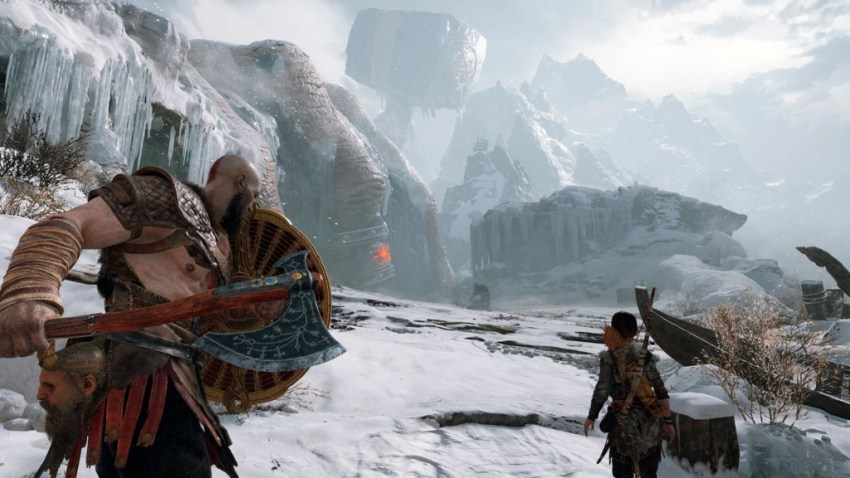 God of War review-in-progress - A strong start laden with compassion and combat 10
