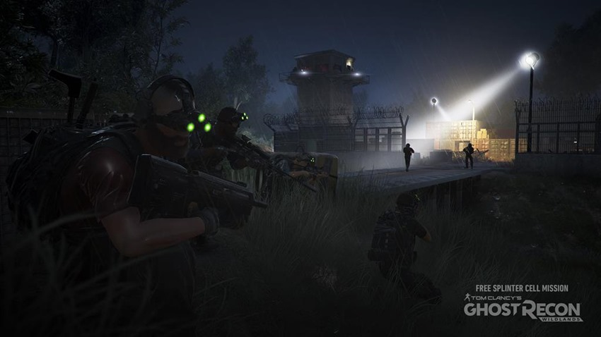 Ghost Recon Splinter Cell (5)