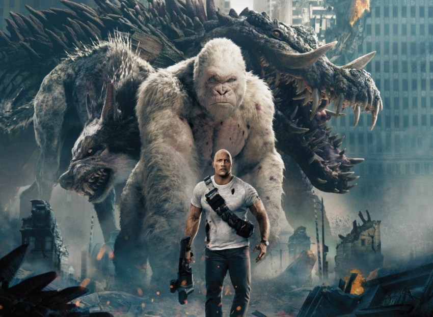 Rampage is currently the highest rated video game adaptation ever on Rotten Tomatoes 3