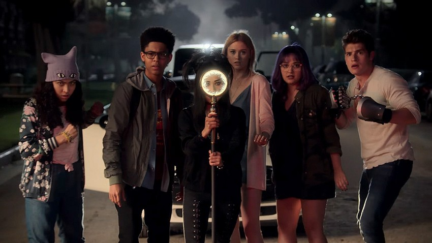 Actress Angel Parker talks about complex characters and teenage angst in Marvel's Runaways now on Showmax 12