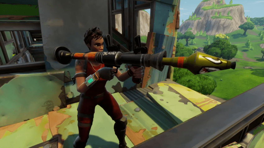 Fortnite Update 3 5 2 Adds Light Machine Guns And A 50 V 50 Limited