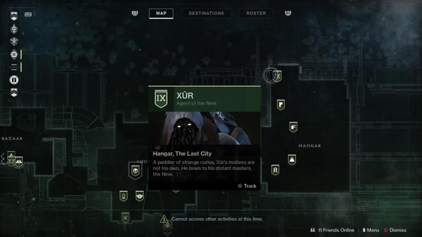 Destiny 2: Where is Xur (and whats he got for sale?) – 11 May 5