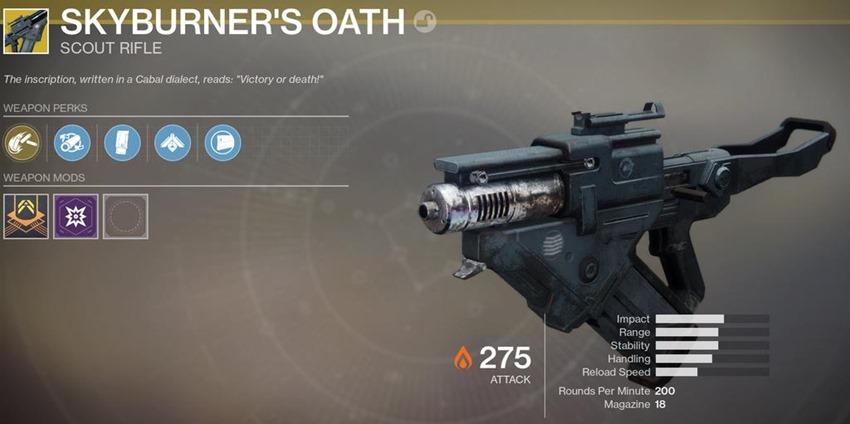 Skyburner's Oath