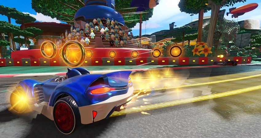 Team Sonic Racing officially revealed