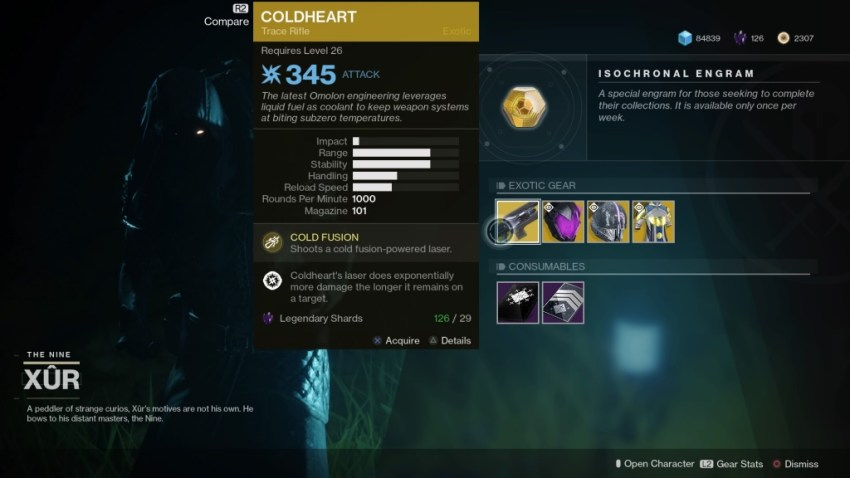 Destiny 2: Where is Xur (and whats he got for sale?) – 20 July 4