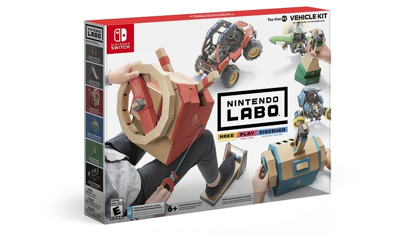 Nintendo Labo Vehicle kit coming in September 2
