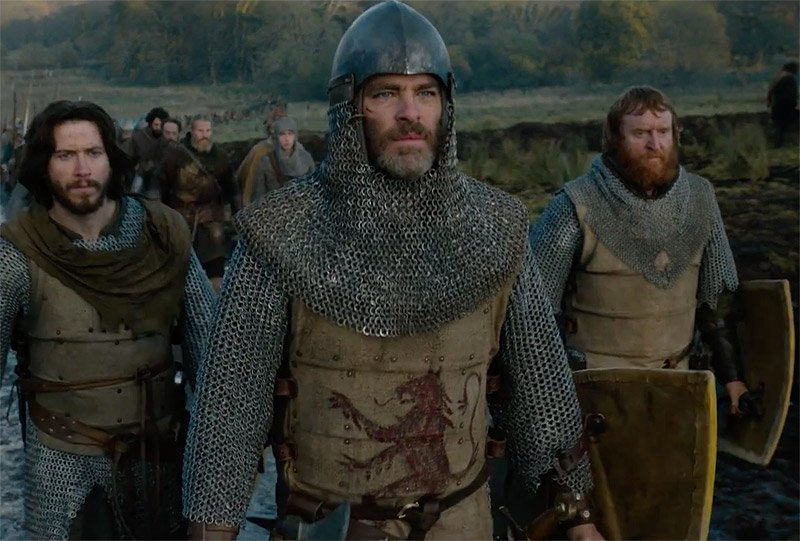 """First trailer for Scottish epic Outlaw King tells the story of the real """"braveheart"""" 2"""