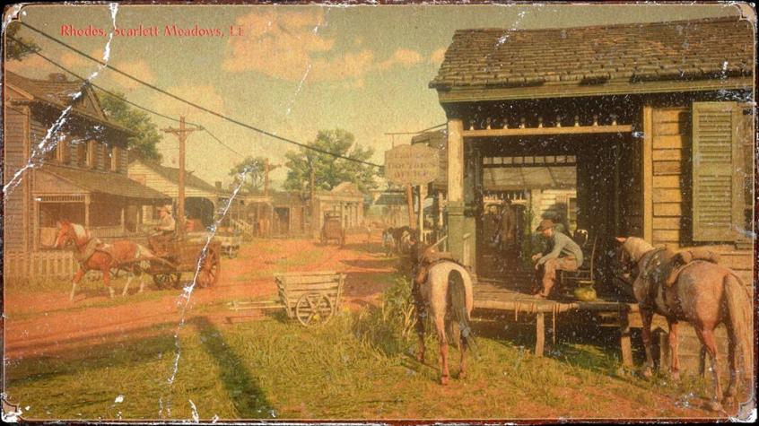 Red Dead Redemption 2 towns (15)