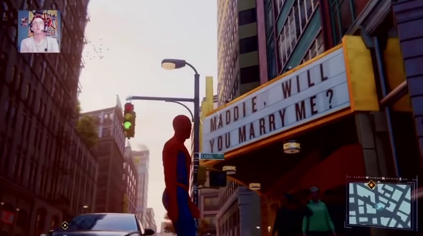 Spider-Man proposal goes horriby wrong