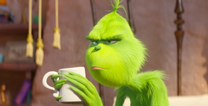 Resist the cookie in this new trailer for The Grinch 3
