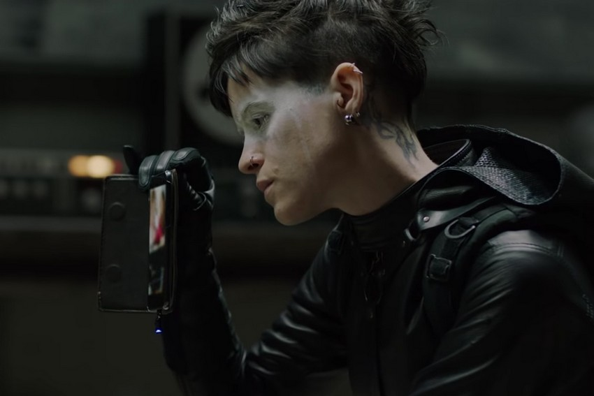 Action packed new trailer for The Girl in the Spider's Web explores Lisbeth Salander's past 3