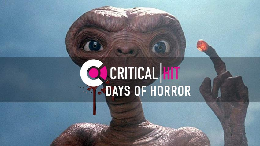 The Critical Days of Horror Countdown - E.T: The Extra Terrestrial 3