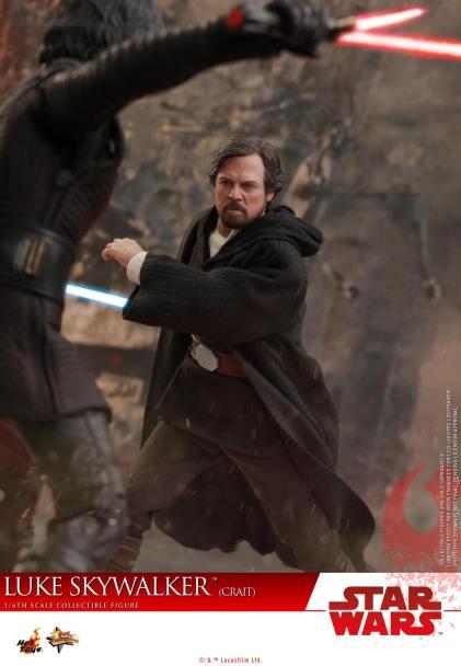 Hot Toys Luke Skywalker Crait (13)