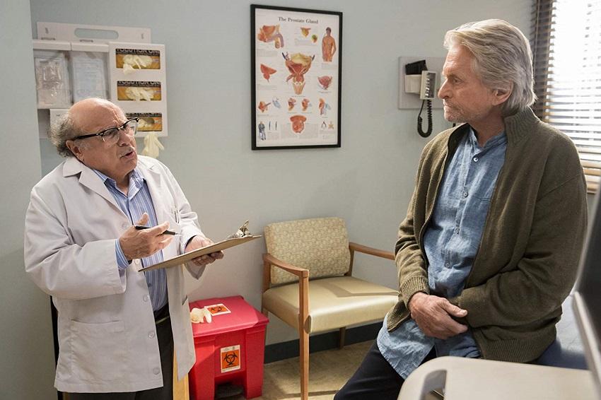 Michael Douglas and Alan Arkin are best friends in the Netflix comedy series The Kominsky Method 3