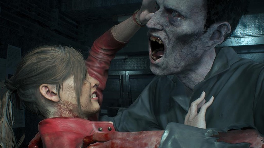 Resident Evil 2 Lickers (3)