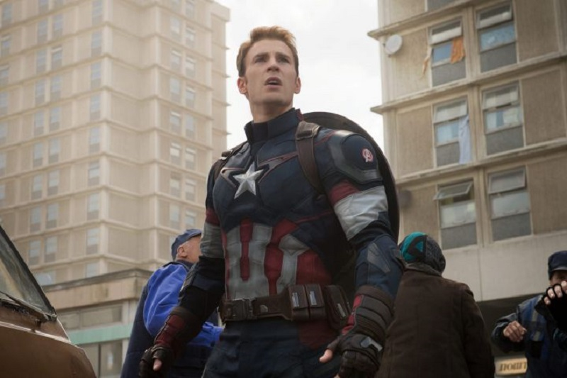 Chris Evans may have just said farewell to Captain America and Marvel 4