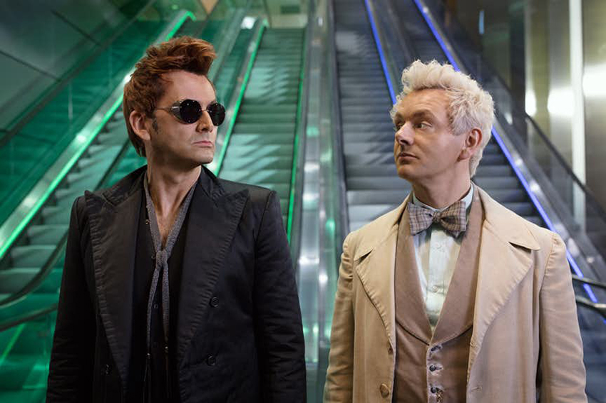 NYCC: Welcome to the end times! It's the first trailer for Good Omens! 3