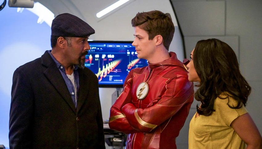 Jesse L Martin The Flash (2)