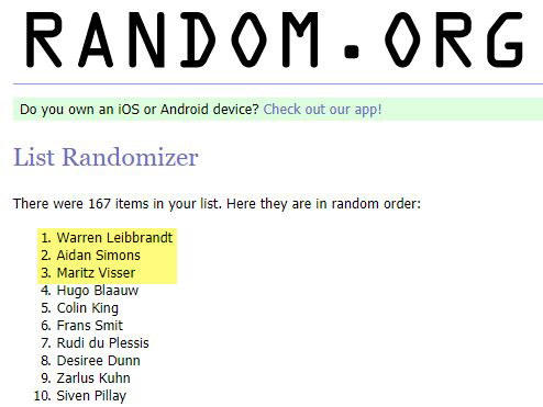 Here are the winners of our Aquaman hampers 4