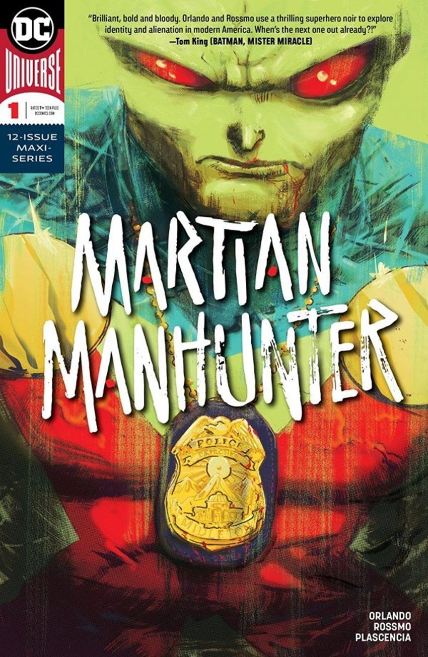 Martian Manhunter #1
