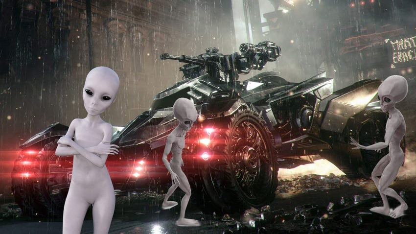 The ten best video game vehicles with which to break into Area 51