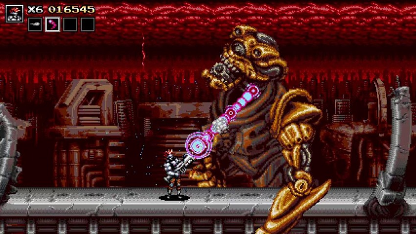 Here's how Blazing Chrome designed its awesome retro boss battles