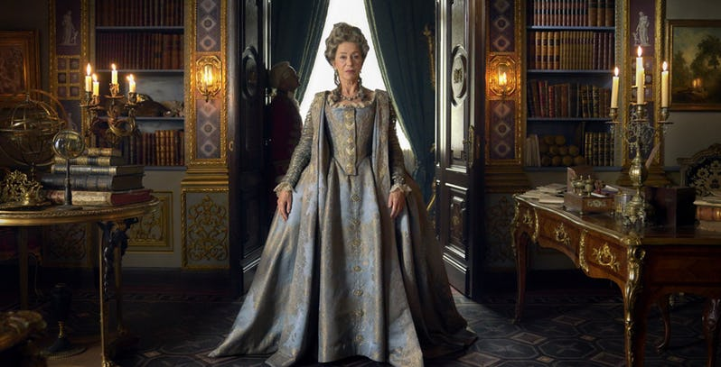 Helen Mirren is now sitting on the Russian throne in this trailer for HBO series Catherine the Great