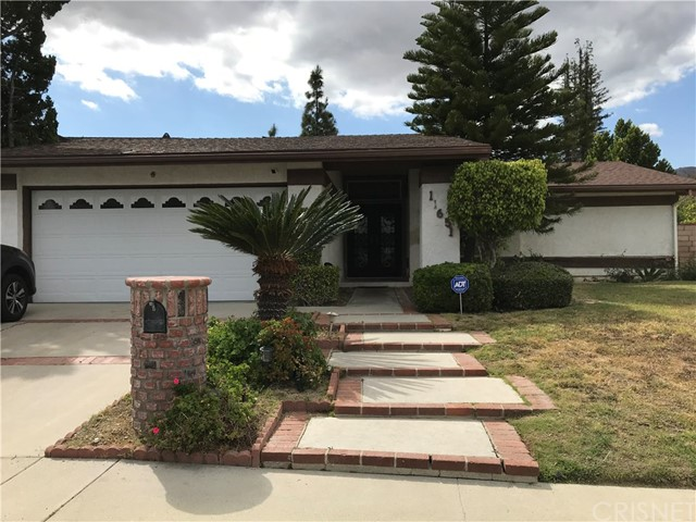 3 Br. 2.5 Bath property located in Northridge area with cozy entrance, laminate flooring and recessed lighting.  The property needs substantial improvements to be done, including damaged roof, reflecting several areas with water leakage spots.  There are several areas of the property where work was done without permits.  Buyer to do their own verification of the condition, permits, living area and functionality of appliances and pool equipment.