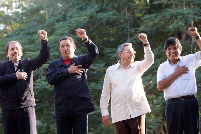 Desde Nicaragua hoy somos millones por una America Latina unida.